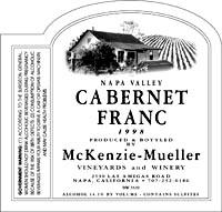 McM CabFranc 99WEB wine grapes u20 syrah st joseph rhone napa grenache carneros cabernet franc