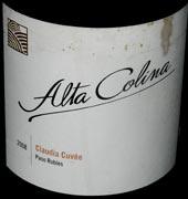 altacolina claudia 08WEB wine grapes syrah spain santa rita hills santa barbara county rousanne pinot noir mourvedre marsanne grenache blanc grenache alta rioja