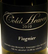 coldheaven viognier2010WEB wine grapes viognier tempranillo santa rita hills rioja alta pinot noir loire valley grenache gamay 