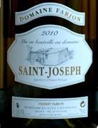 farjon saint joseph blancWE wine grapes