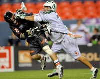 football + hockey=lacrosse