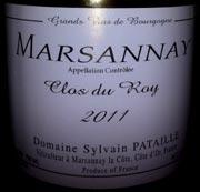 pataille marsannay 2011WEB wine grapes viognier value value value sparkling rousanne pinot noir paso robles northern italy marsanay la culture grenache blanc chardonnay champagne burgundy